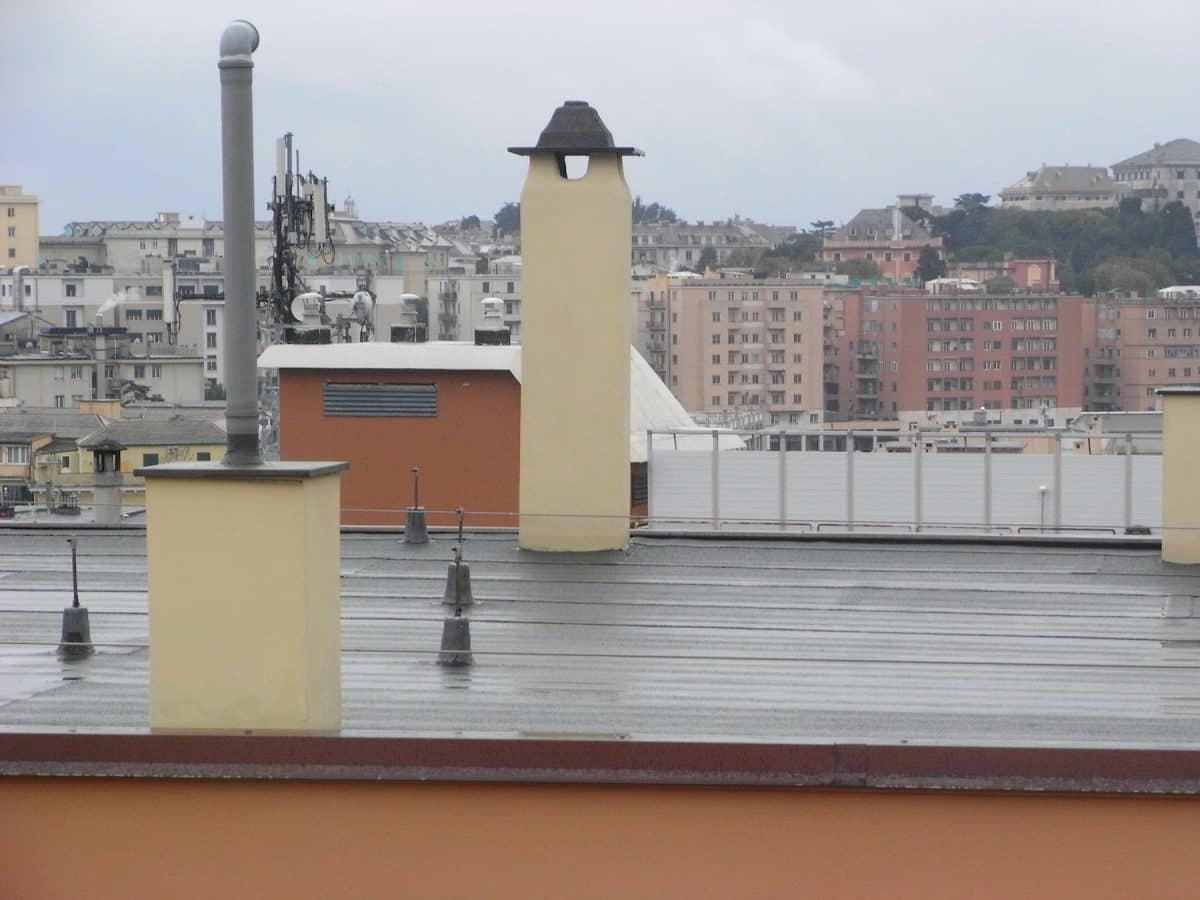 Ramella tetti piani - coperture - via manuzio - Genova